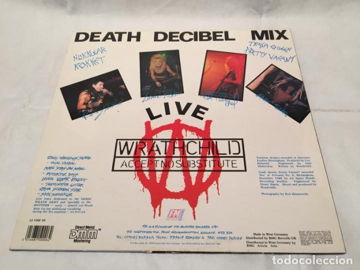 Discos de vinilo: WRATHCHILD -NUKKLEAR ROKKET- (1989) MAXI-SINGLE - Foto 7 - 144296502