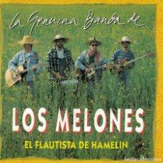 Disques de vinyle: LOS MELONES - EL FLAUTISTA DE HAMELIN (SINGLE PROMO ESPAÑOL, OKAY RECORDS 1983). Lote 144303150