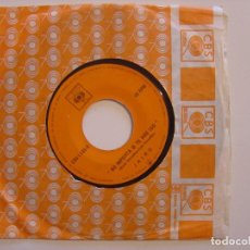 Discos de vinilo: JAIRO - NO IMPORTA SI TE HAS IDO / TRISTEZAS - SINGLE VENEZOLANO 1971 . CBS. Lote 144304186