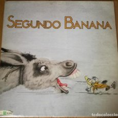 Discos de vinilo: SEGUNDO BANANA - SEGUNDO BANANA LP 1989 SKA KORROSKADA MADNESS SPECIALS. Lote 144313906