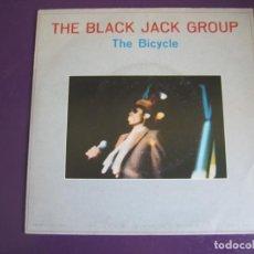 Discos de vinilo: THE BLACK JACK GROUP ?SG DISCOS GAMES 1985 THE BICYCLE +1 - ELECTRONICA ITALODISCO DISCO. Lote 144314210