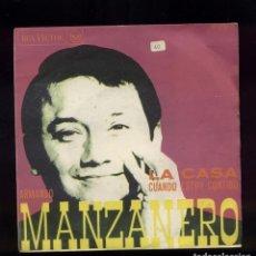 Discos de vinilo: ARMANDO MANZANERO 45RPM RCA 1968. Lote 144320334