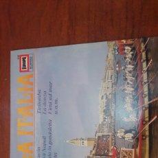 Discos de vinilo: BELLA ITALIA. EUROPA 181. Lote 144325588