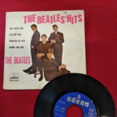 Discos de vinilo: THE BEATLES, - THE BEATLES´HITS - SHE LOVES YOU, ODEON, 1963.. Lote 144329492