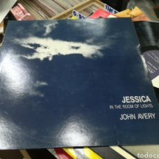 Disques de vinyle: JOHN AVERY LP JESSICA IN THE ROOM OF LIGHTS U.K. 1986. Lote 144340810