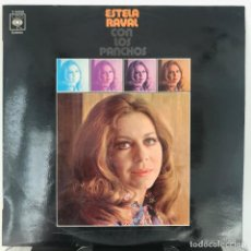 Discos de vinilo: ESTELA RAVAL - ESTELA RAVAL CON LOS PANCHOS _ 1971 NUEVO . Lote 144341630