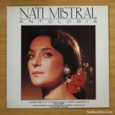 Discos de vinilo: NATI MISTRAL - ANTOLOGIA - LP. Lote 144373016