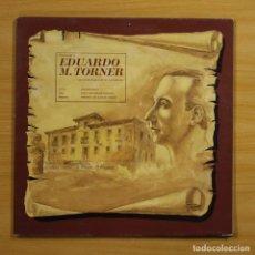 Discos de vinilo: JOAQUIN PIXAN / ORQUESTA SINFONICA DE MADRID - HOMENAJE A EDUARDO M. TORNER - GATEFOLD - LP. Lote 144380206
