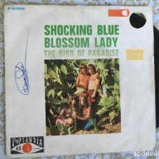 Dischi in vinile: 7 SINGLE-SHOCKING BLUE-BLOSSOM LADY. Lote 144389694