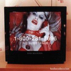 Discos de vinilo: LP BAD RELIGION - NO SUBSTANCE. Lote 144390154