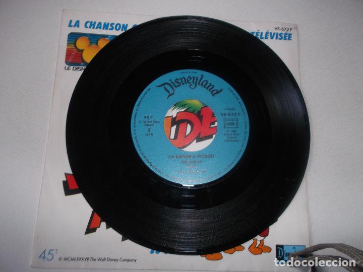 Discos de vinilo: Jean-Claude Corbel, Claude Lombard – La Bande A Picsou Sello: Disques Adès ?– VS-672 F, Disneyland - Foto 3 - 144398862