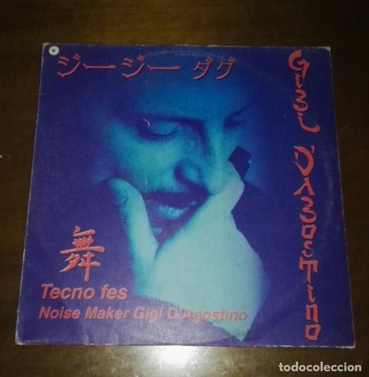 GIGI D'AGOSTINO - TECNO FES LA PASSION MAXI EP SPAIN VALE MUSIC (Música - Discos de Vinilo - Maxi Singles - Techno, Trance y House)