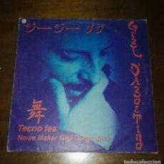 Discos de vinilo: GIGI D'AGOSTINO - TECNO FES LA PASSION MAXI EP SPAIN VALE MUSIC. Lote 144399518