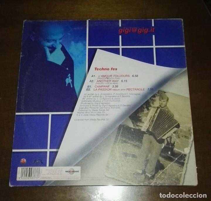 Discos de vinilo: Gigi DAgostino - Tecno Fes la passion maxi EP SPAIN VALE MUSIC - Foto 2 - 144399518
