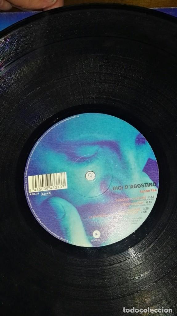 Discos de vinilo: Gigi DAgostino - Tecno Fes la passion maxi EP SPAIN VALE MUSIC - Foto 3 - 144399518