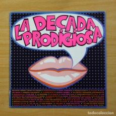 Discos de vinilo: LA DECADA PRODIGIOSA - LA DECADA PRODIGIOSA - LP. Lote 144402137
