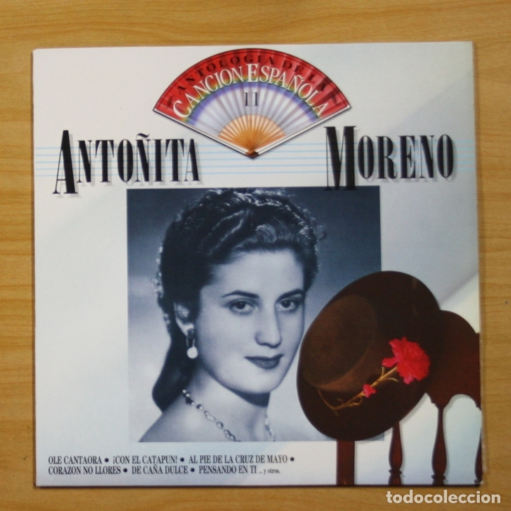 ANTO�ITA MORENO - ANTO�ITA MORENO - LP (Música - Discos - LP Vinilo - Flamenco, Canción española y Cuplé)
