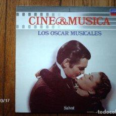 Discos de vinilo: CINE & MUSICA Nº 1 - LOS OSCAR MUSICALES . Lote 144403406