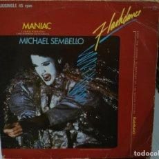 Discos de vinilo: MICHAEL SEMBELLO - MANIAC (FLASHDANCE) - MAXI SINGLE DEL SELLO CASABLANCA 1983. Lote 144441070