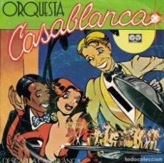 Discos de vinil: ORQUESTA CASABLANCA - DESCARGA CASABLANCA / MARIA CRISTINA (SINGLE ESPAÑOL, AUVI 1981). Lote 144442650