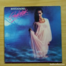 Disques de vinyle: SHAKATAK - INVITATIONS - LP. Lote 144458270