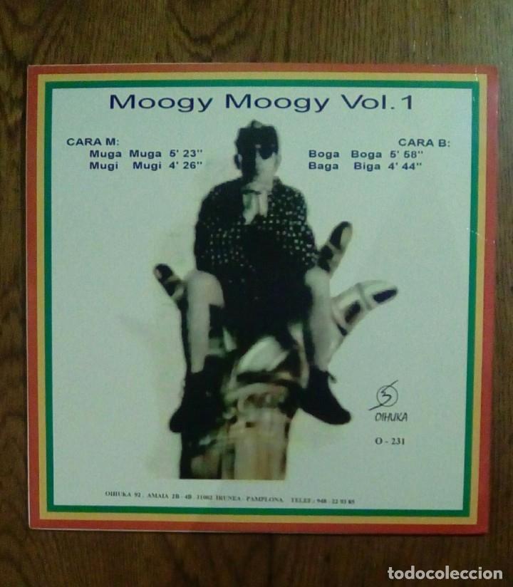 Discos de vinilo: Moogy Moogy - vol 1, 1992, Oihuka. Euskal Herria. - Foto 2 - 144450150