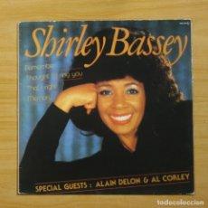 Discos de vinilo: SHIRLEY BASSEY - SHIRLEY BASSEY - LP. Lote 144467361