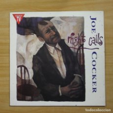 Discos de vinilo: JOE COCKER - NIGHT CALLS - LP. Lote 144467417
