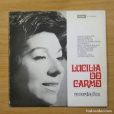 Discos de vinilo: LUCILIA DO CARMO - RECORDACOES - LP. Lote 144467481