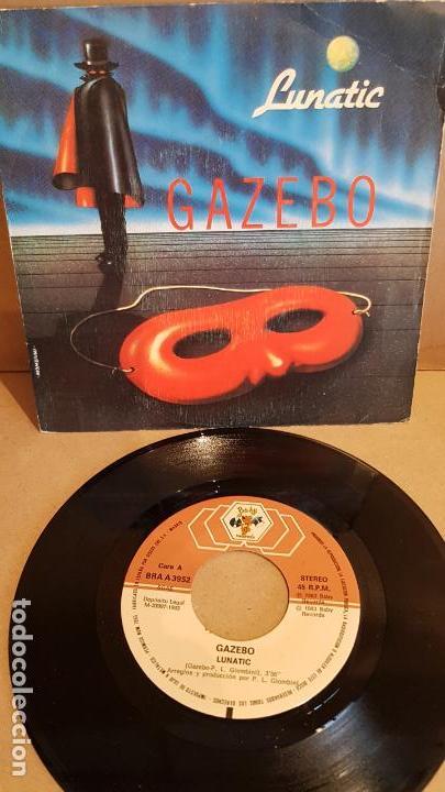 GAZEBO / LUNATIC / SINGLE-BABY RECORDS - 1983 / MBC. ***/*** (Música - Discos de Vinilo - Singles - Pop - Rock Extranjero de los 80)