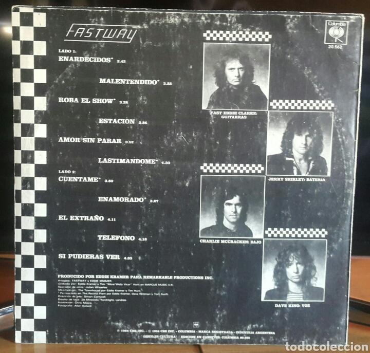 Discos de vinilo: Fastway/argentina 1984 - Foto 2 - 144468472