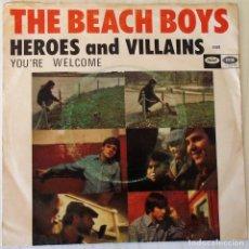 Discos de vinilo: THE BEACH BOYS - HEROES AND VILLAINS CAPITOL - 1967. Lote 144478966