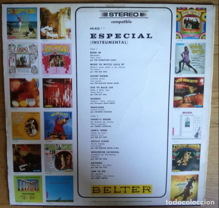 Discos de vinilo: Especial intrumental Lp - Raro Lp en Sello Belter Instro Surf - Foto 2 - 144480478