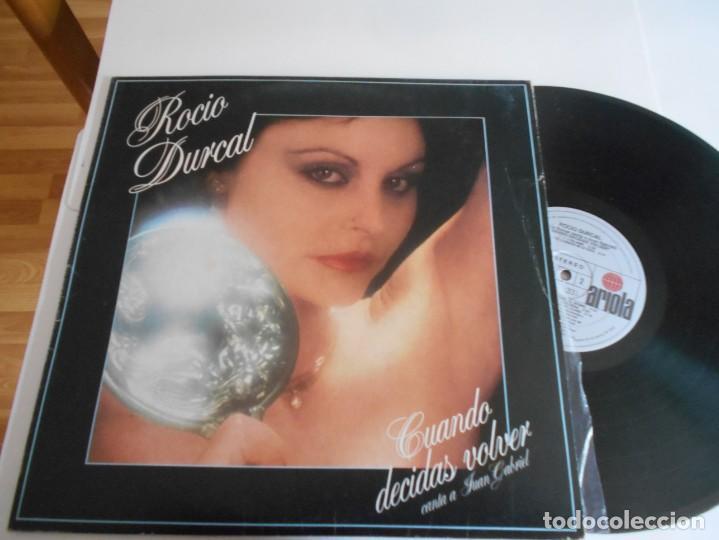 ROCIO DURCAL-LP CUANDO DECIDAS VOLVER (Música - Discos - LP Vinilo - Solistas Españoles de los 50 y 60)