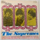 Discos de vinilo: THE SUPREMES - LOVE IS HERE AND NOW YOU´RE GONE + 3 TEMAS TAMLA MOTOWN - 1967. Lote 144482518