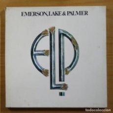 Discos de vinilo: EMERSON LAKE & PALMER - EMERSON, LAKE & PALMER - BOX 4 LP. Lote 144486820