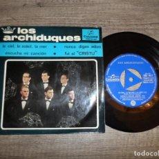 Discos de vinilo: LOS ARCHIDUQUES - LE CIEL LE SOLEIL LA MER +3. Lote 144487010