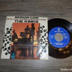 Discos de vinilo: THE KINKS - SESION CON THE KINKS. Lote 144487422
