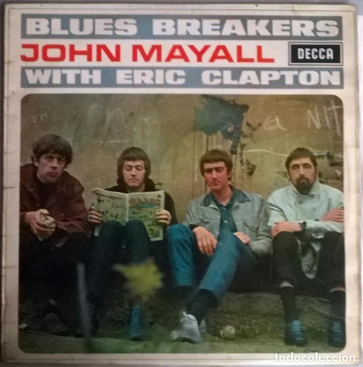 JOHN MAYALL. BLUES BREAKERS WITH ERIC CLAPTON. DECCA, UK 1966 LP SKL 4804 STEREO (Música - Discos - LP Vinilo - Pop - Rock Extranjero de los 50 y 60)