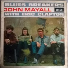 Discos de vinilo: JOHN MAYALL. BLUES BREAKERS WITH ERIC CLAPTON. DECCA, UK 1966 LP SKL 4804 STEREO. Lote 144488466