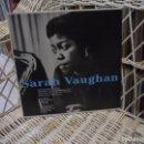 Discos de vinilo: SARAH VAUGHAN WITH CLIFFORD BROWN –LP REED. EUROPA 2008 DE LP DE 1954.SELLO JAZZTRACK. Lote 144493334