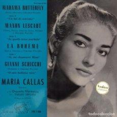 Discos de vinilo: SENCILLO DE MARIA CALLAS. Lote 144495358