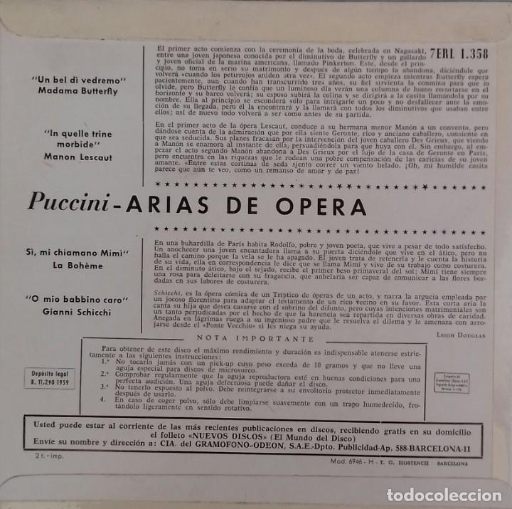 Discos de vinilo: Sencillo de Maria Callas - Foto 2 - 144495358