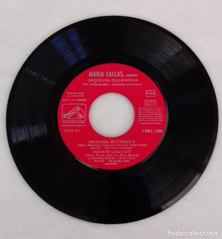 Discos de vinilo: Sencillo de Maria Callas - Foto 3 - 144495358