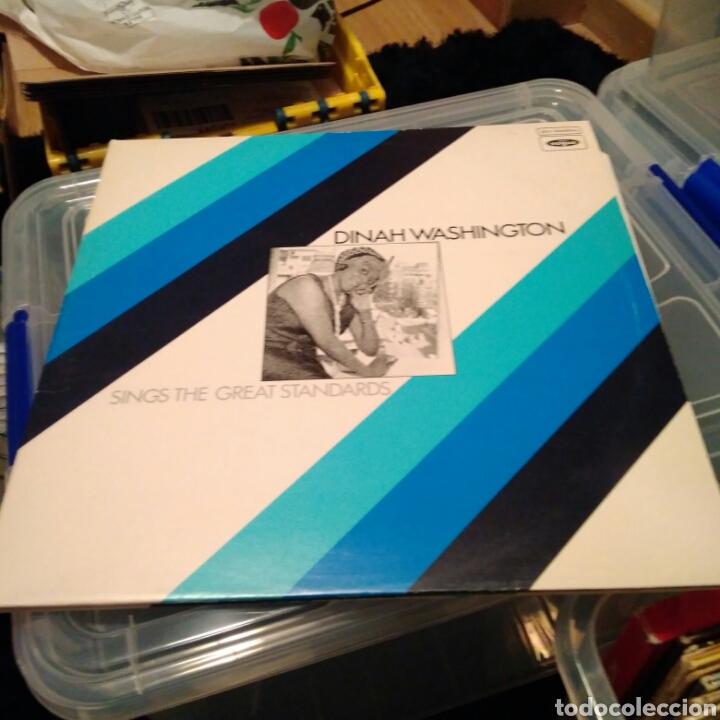 DINAH WASHINGTON - SINGS THE GREAT STANDARDS (EDICIÓN UK) (Música - Discos - LP Vinilo - Jazz, Jazz-Rock, Blues y R&B)