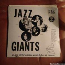 Discos de vinilo: VARIOUS - JAZZ GIANTS. Lote 144430038