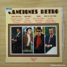 Discos de vinilo: VARIOS - CANCIONES RETRO - LP. Lote 144502714