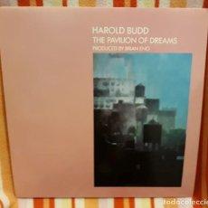 Discos de vinilo: HAROLD BUDD - THE PAVILION OF DRAMS - EG RECORDS 1978 (1981) UK (COMO NUEVO). Lote 144503214