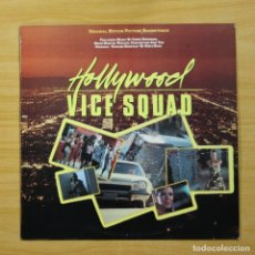 Discos de vinilo: VARIOS - HOLLYWOOD VICE SQUAD - LP. Lote 144503245