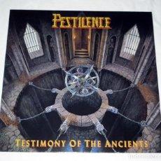 Discos de vinilo: LP PESTILENCE - TESTIMONY OF THE ANCIENTS. Lote 144504334